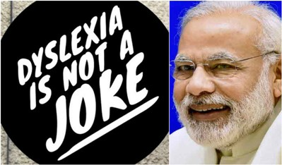 Modi On Dyslexia: Contumelious And Ignorant of Law