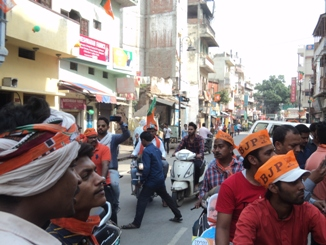 The Modi Road Show In Pictures