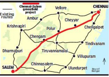 Madras HC Stops Chennai-Salem Highway For Environment Clearance