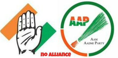 Congress And AAP: Going Their Own Ways
