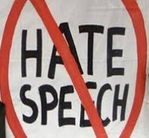 Hate Speeches: No Deliverance From The Evil