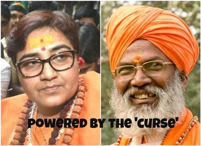 Pragya Thakur, Sakshi Maharaj And The Power Of The Curse