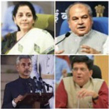 Key Ministers In Modi's New Cabinet